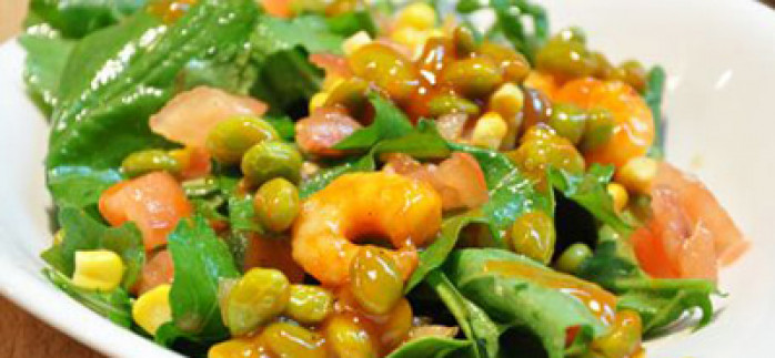 Rokalı Karidesli Salata Tarifi