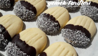 Çikolataya Bandırılmış Kurabiye
