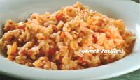Domatesli Pirinç Pilavı