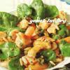Ispanaklı Tavuklu Salata