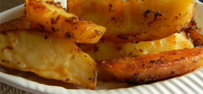 Kekikli Limonlu Patates