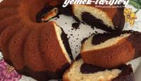 Kakaolu Sade Kek Tarifi