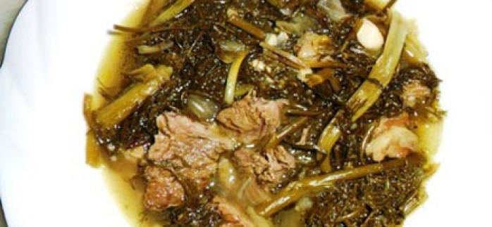 Kuzu Etli Arapsaçı Yemeği