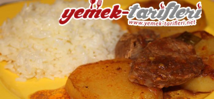 Fırında Patatesli Biftek