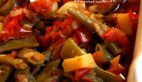 Zeytinyağlı Patatesli Taze Fasulye