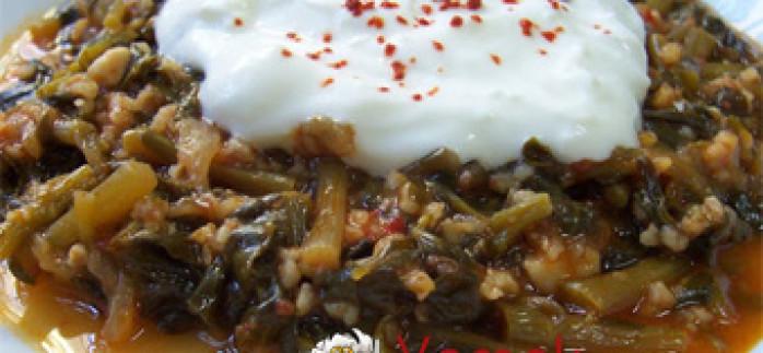 Pirinçli Semizotu Yemeği