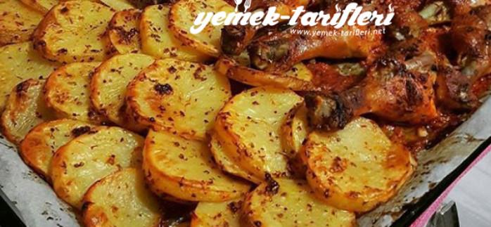 Soslu Baget ve Patates Tarifi