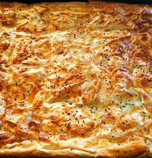 patatesli serme börek