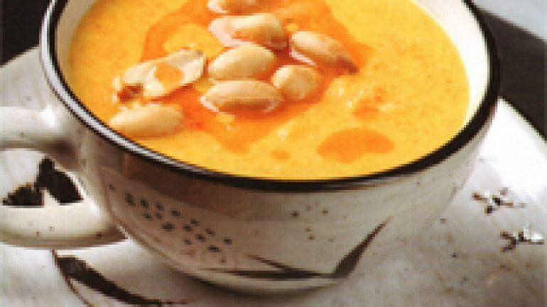 Zencefilli Balkabağı Çorbası