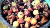 Kimyonlu Buğu Kebabı