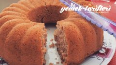 Bayatlamayan Tarçınlı Çaylı Kek