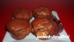 Çikolatalı Fındık Kremalı Muffin