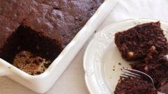 Ilık Çikolatalı Fındıklı Kek Tarifi