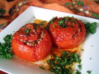 domates dolması