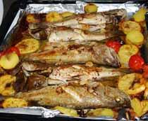 Domatesli Balık Tarifi