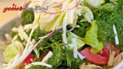 Ege Salatası Yapılışı