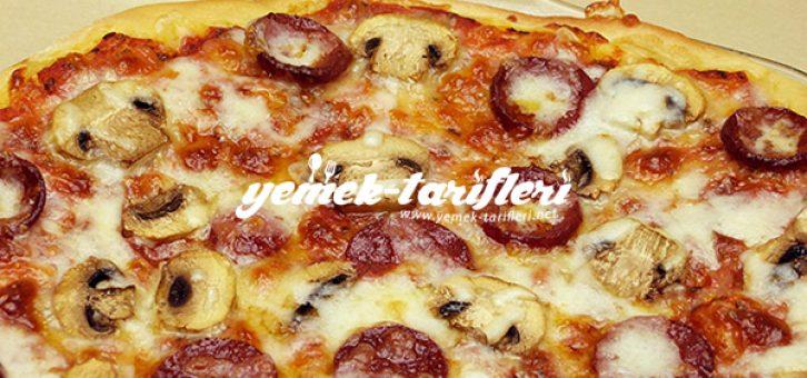 Ev Usulü Pratik Pizza
