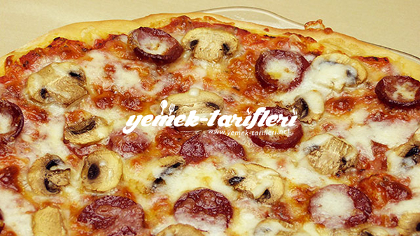 ev usulu pizza