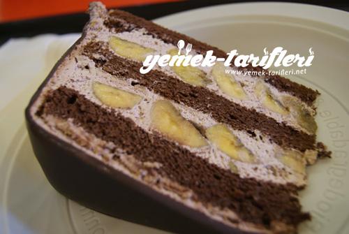 ev yapımı çikolatalı pasta