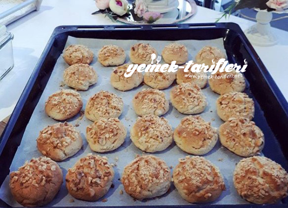 findikli tahinli kurabiye