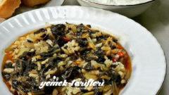Pirinçli Ispanak Yemeği Tarifi