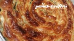 Elde Açma Ispanaklı Börek
