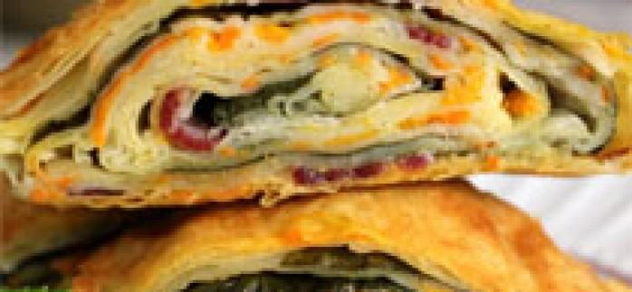 Ispanaklı Pastırmalı Börek Tarifi