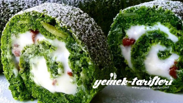 Ispanaklı Rulo Pasta Tarifi