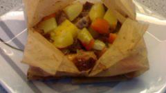 Kuzu Kağıt Kebabı