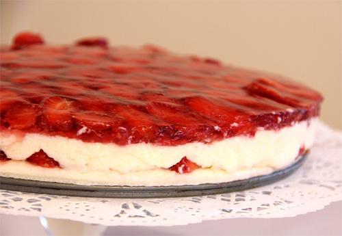 meyveli cheese kek
