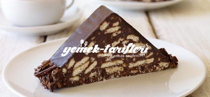 Çikolatalı Mozaik Pasta Tarifi