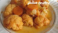 Nohutlu, Patatesli Karnabahar Yemeği