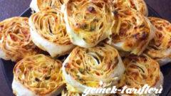 Patatesli Peynirli Çıtır Börek