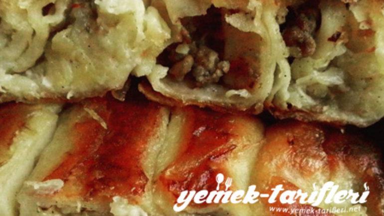 Kıymalı Patatesli Tava Böreği