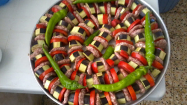 Ev Usulu Patlıcan Kebabı