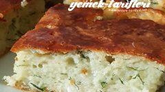 Tuzlu Peynirli Kek