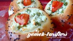 Peynirli Mini Pizza Poğaça