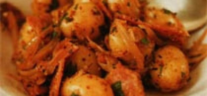 Salamlı Patates Salatası