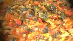 Sebzeli Semizotu Yemeği