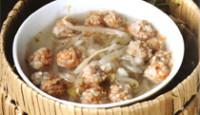 Soya Filizli Köfte Çorbası