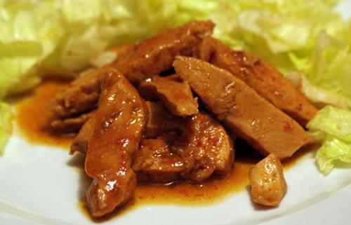 soya soslu tavuk
