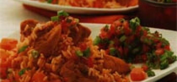 Baharatlı Tavuklu Risotto