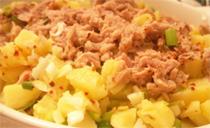 Ton Balıklı Patates Salatası