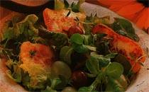 Hellimli Üzüm Salatası Tarifi