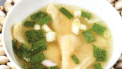 Çin'in Wonton Çorbası