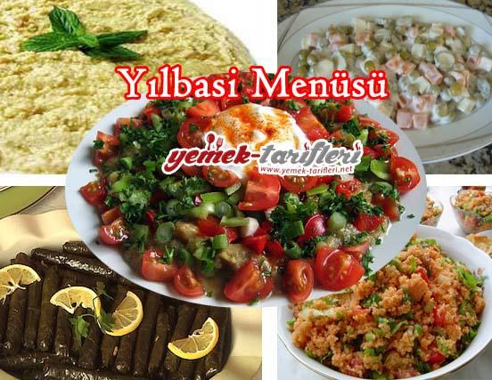 yilbasi menüsü