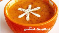 Balkabağı Çorbası