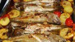 Domatesli Balık Buğulaması