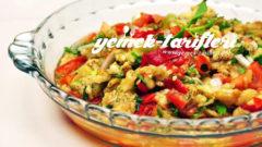 Tahinli Közlenmiş Patlıcan Salatası