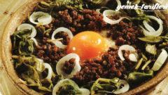 Yumurtalı Semizotu Tavası